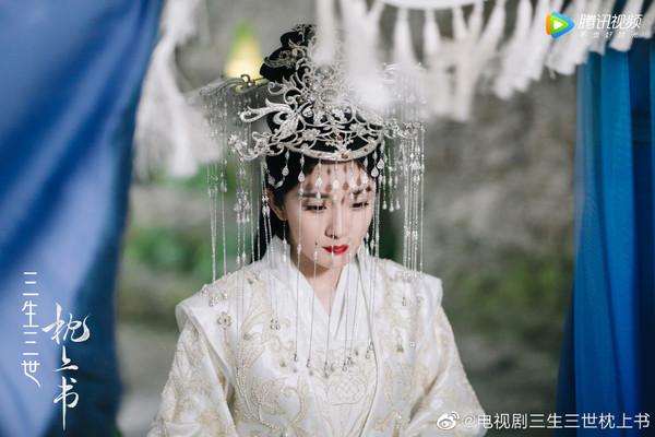 ▲▼等3年《三生三世十里桃花》大婚結局終於播了。(圖/翻攝自微博)