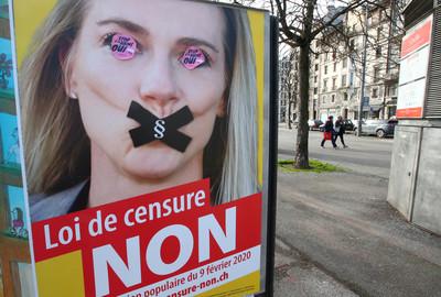 瑞士反恐同新法公投 63%民眾支持