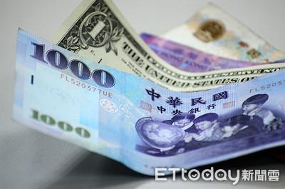 新台幣未收在29字頭 升值3.6分收30.032元兌1美元