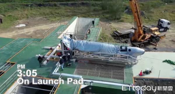 確定了!台灣自製太空火箭2/13升空 「飛鼠一號」發射控制中心曝光