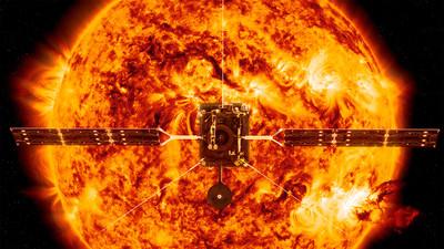 NASA發射太陽軌道飛行器 近距離鳥瞰太陽