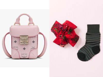 用粉嫩耳機套、花朵襪子搞定情人節