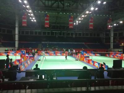 羽球亞團賽限制觀眾入場
