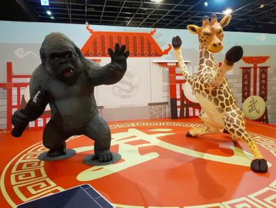 高雄全新300坪功夫動物園免費拍