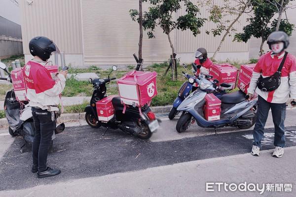 ▲斗六多名foodpanda外送員2月10日開始接到惡意訂單,指定地點多在郊外或路口。(圖/記者蔡佩旻翻攝)