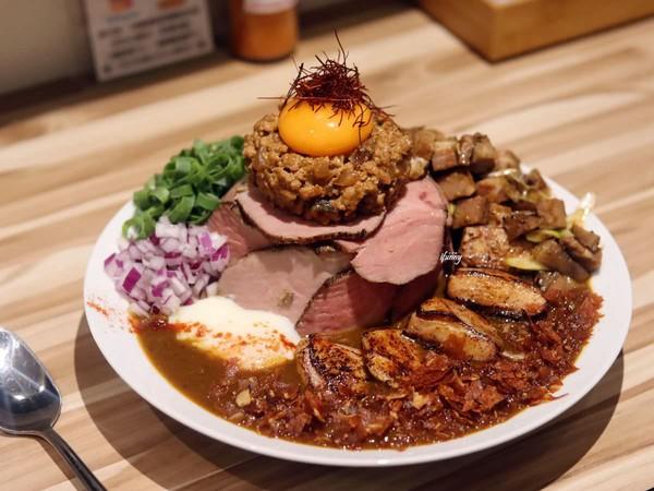 超邪惡半熟蛋流出!台北限量咖哩專賣店 激推巨無霸肉多一次滿足   ETt