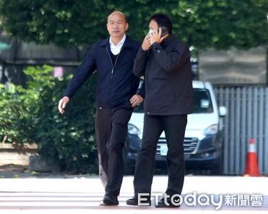 第3次出席院會 韓國瑜向中央討口罩