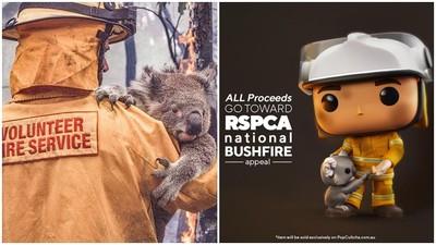 不只小熊餅乾!美澳推「叢林大火英雄」公仔 虐心設計助受災動物