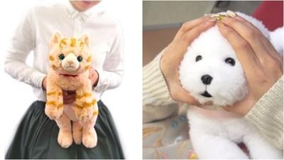 暖萌系「膝上動物園」 軟毛動物玩偶直接抱懷裡 天再冷也有笑意