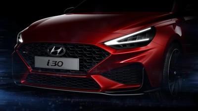 Hyundai公布新i30 N Line預告照