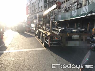 悲!屏東男騎車買口罩 壓連結車輪下爆頭慘死