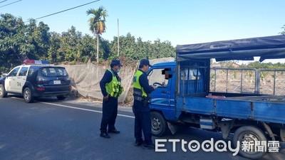 內埔警分局自辦交通大執法 強力取締交通違規