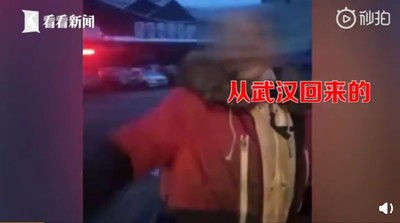 男發燒45度 硬闖進社區