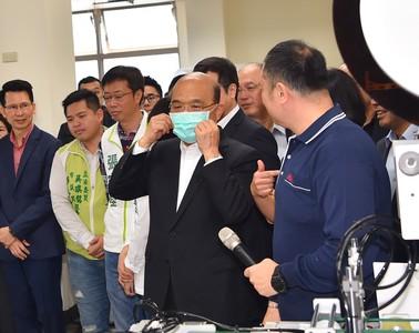 增60部口罩機組! 蘇貞昌:有台灣國籍是最好保障
