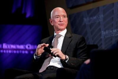 貝佐斯近兩周賣1230億元亞馬遜持股