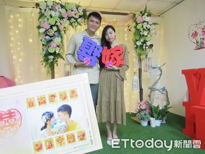 西洋情人節227對新人登記結婚