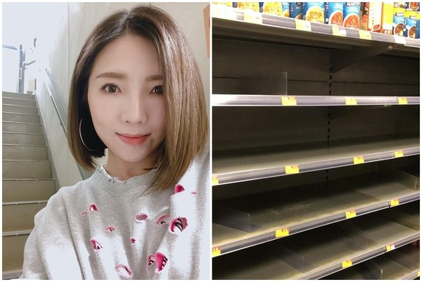 香港人搶爆衛生紙、罐頭! 傅珮嘉目睹「超市誇張亂象」氣壞:沒病都被搞出病