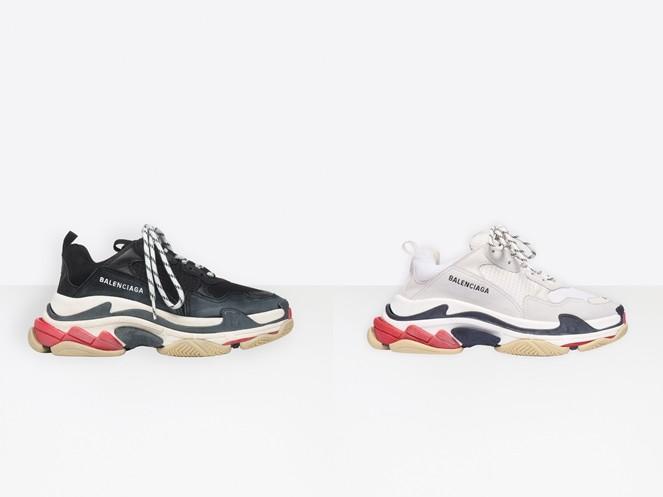 ▲精品老爹鞋。(圖/翻攝自Valentino官網、Balenciaga官網、Gucci官網、LV官網、Dior官網)