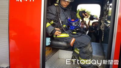 高雄消防4人還在醫院 全面體檢後座安全帶