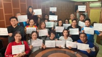 義美410菲籍移工請願促杜特蒂撤禁台令