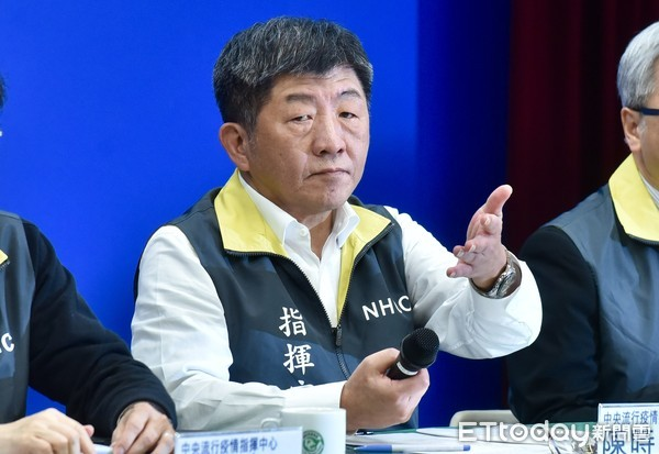 ▲疾管署說明新冠肺炎疫情,衛福部長陳時中。(圖/記者李毓康攝)