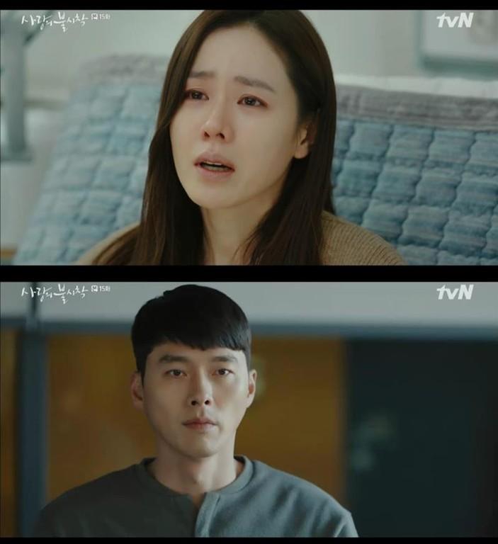 ▲雷/心電圖「逼」聲網崩潰:安堆!《愛的迫降》預告悲傷結局?。(圖/翻攝自tvN)