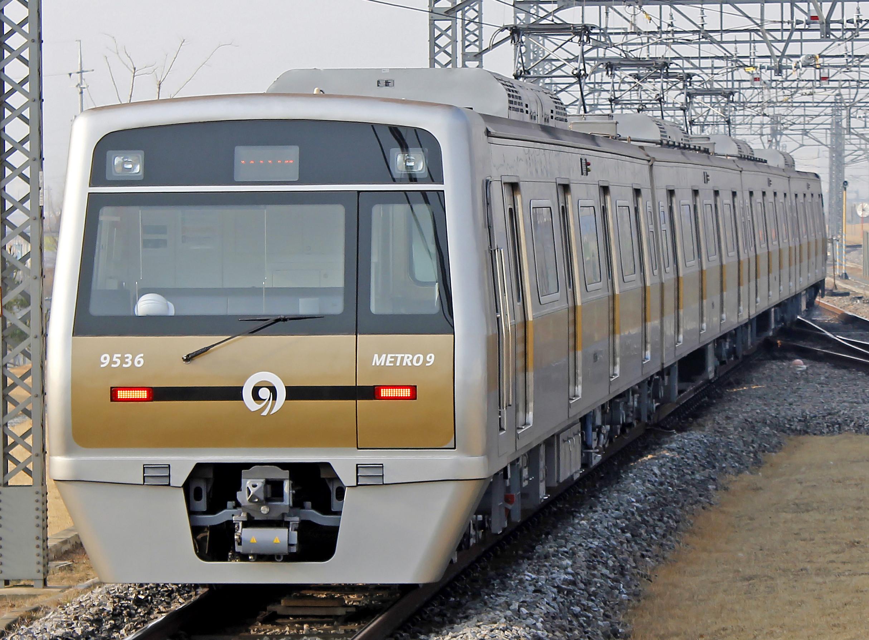 ▲▼首爾地鐵9號線(圖/翻攝自維基百科)