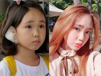 南韓小童星金智怜長大了!變身長腿美少女中學生
