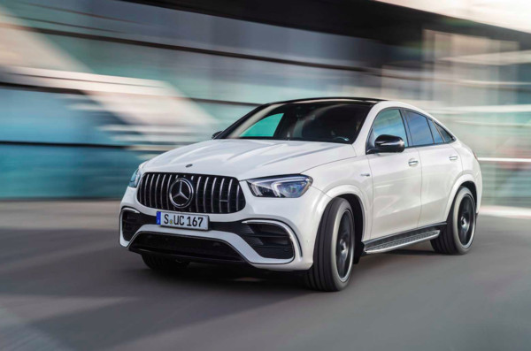 ▲賓士發表AMG GLE63/63 S Coupe 4Matic。(圖/翻攝自Mercedes-Benz)