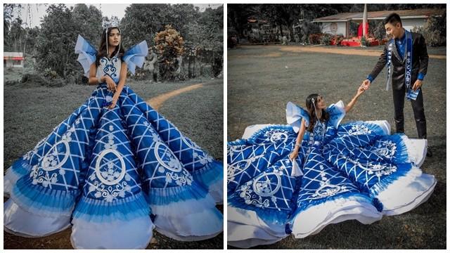 禮服太貴租不起 暖哥趕工1.5週縫製蓬蓬裙 把妹妹寵成最美公主