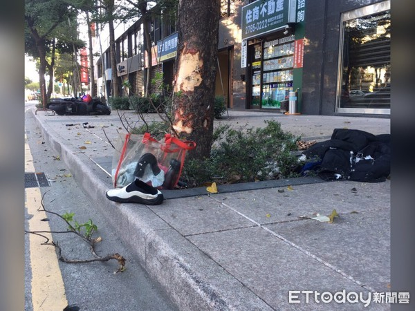 快訊/騎車趕上班...北市男「忠孝東路六段」自撞噴飛 當場命危送醫不治