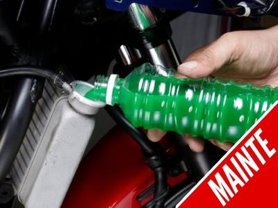 水冷機車「DIY換水」完全攻略!別用自來水、放空氣要確實