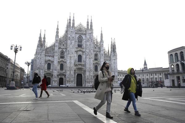 ▲▼ 義大利米蘭大教堂Duomo di Milano。(圖/達志影像/美聯社)