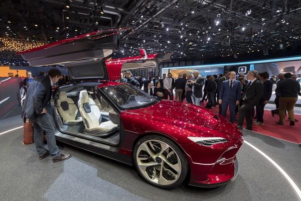 不少车厂接连宣布退展 肺炎让2020日内瓦车展星光更黯淡(图/达志影像/美联社)