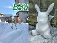 堆雪人精緻度直逼藝術品!宮崎駿龍貓神還原 寶可夢每隻都超萌