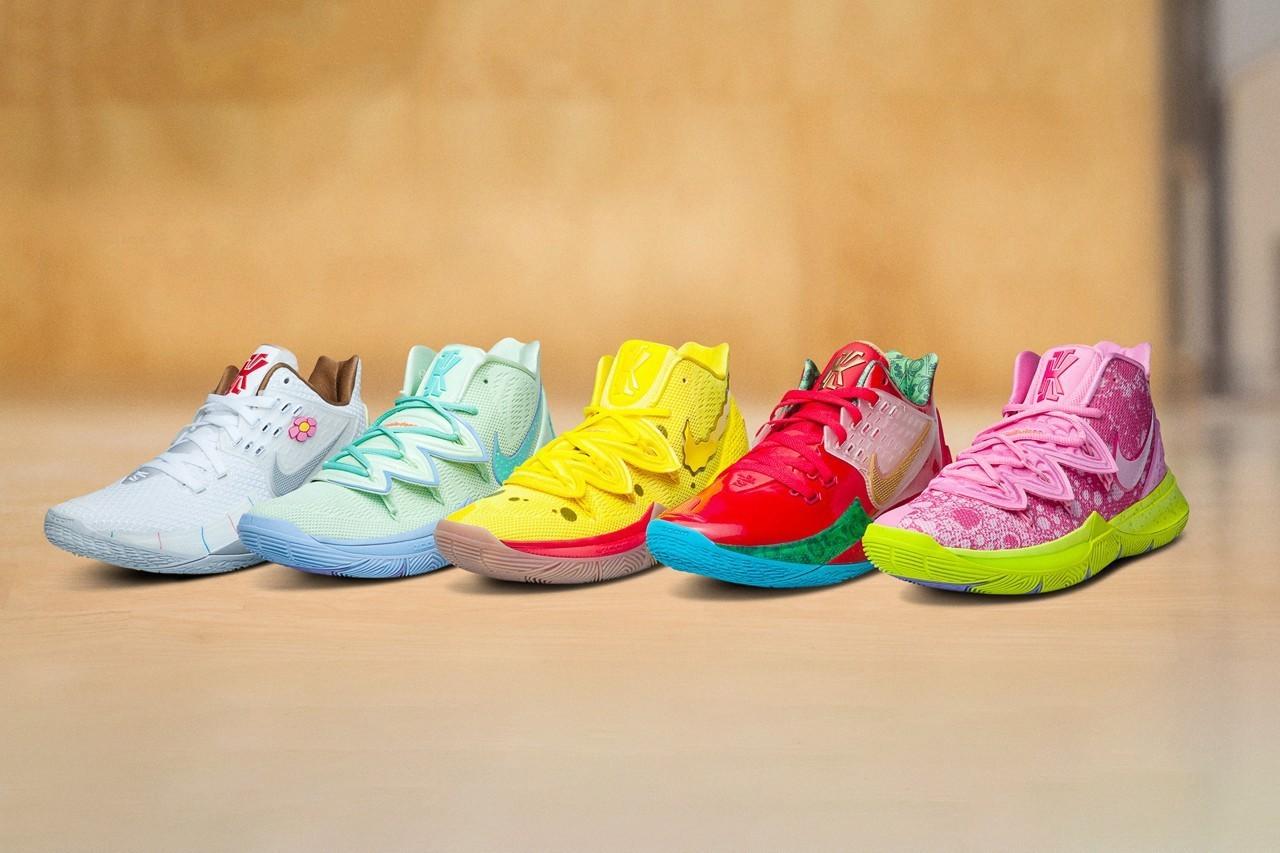 ▲海綿寶寶nike。(圖/翻攝自Nike官網)