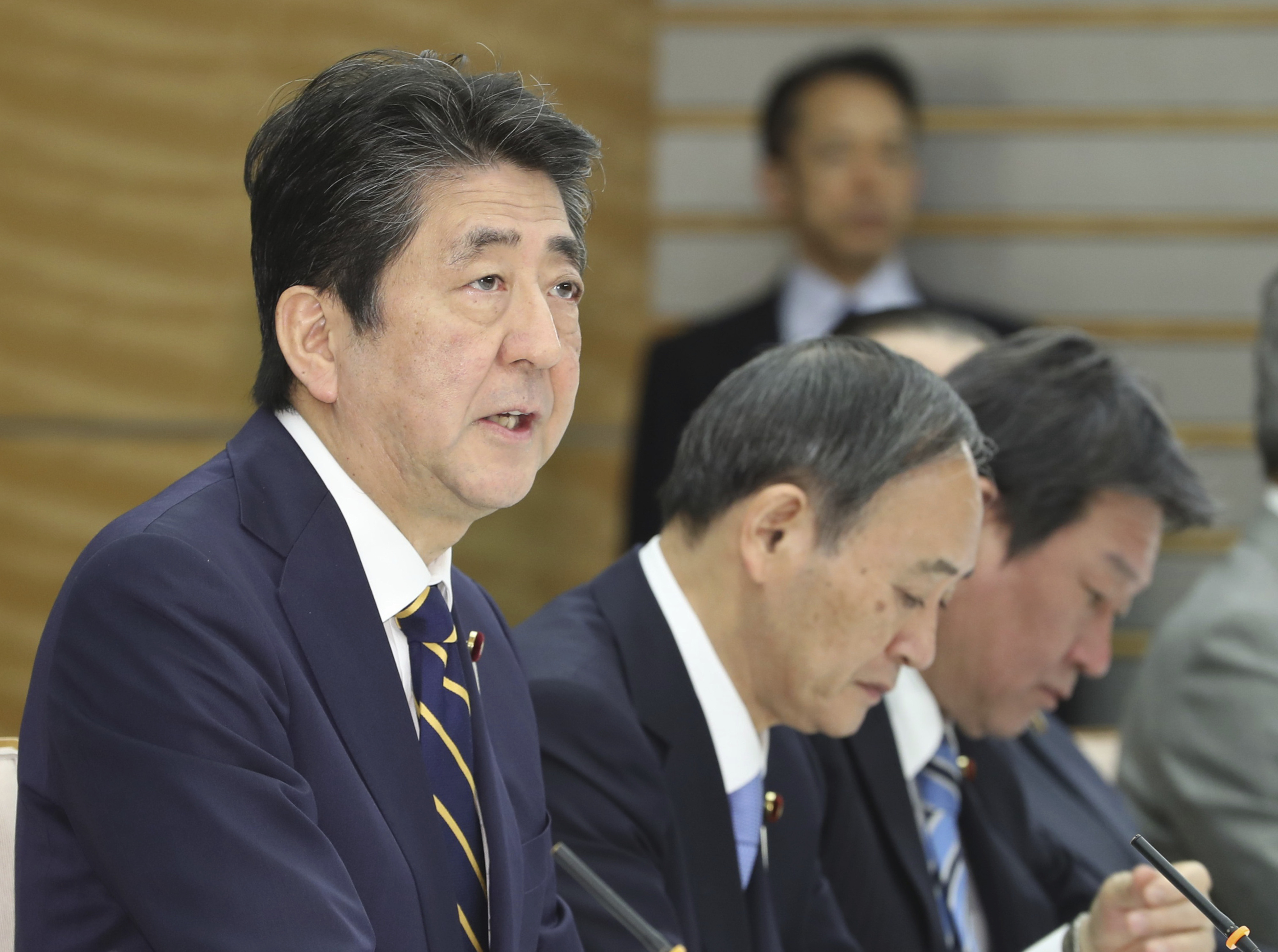 ▲▼ 日本首相安倍晉三。(圖/達志影像/美聯社)