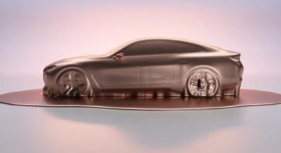 BMW Concept i4最新預告曝光 馬力530匹、單趟續航達600km
