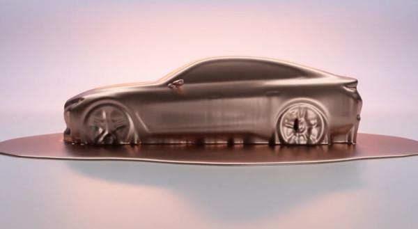 ▲BMW Concept i4預告影片。(圖/翻攝自BMW)