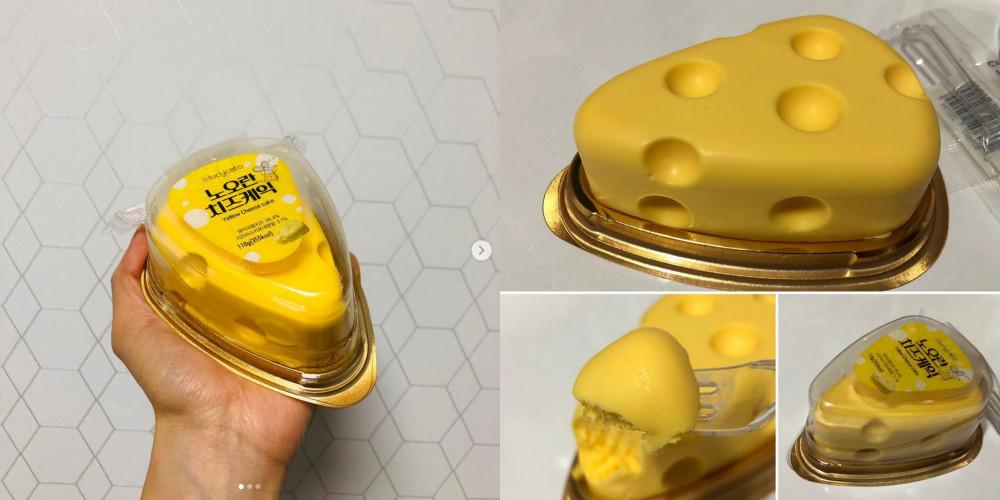 ▲起司蛋糕,711。(圖/IG)