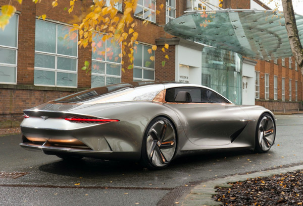 ▲賓利(Bentley)EXP 100 GT Concept概念車。(圖/翻攝自Bentley)
