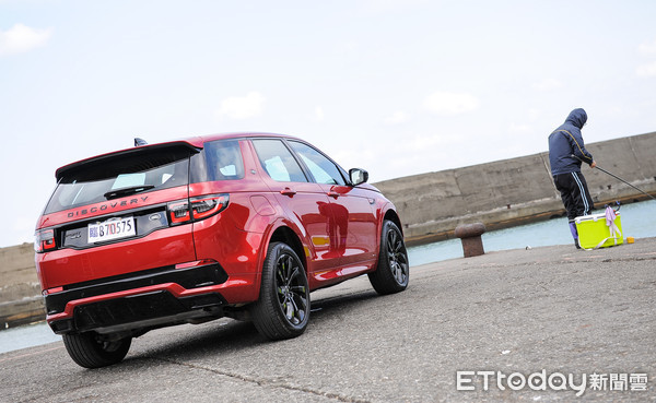 ▲Land Rover Discovery Sport小改款試駕。(圖/記者林鼎智攝)