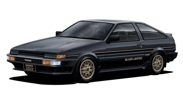 ▲1986年AE86 Black Limited。(圖/翻攝自Toyota)