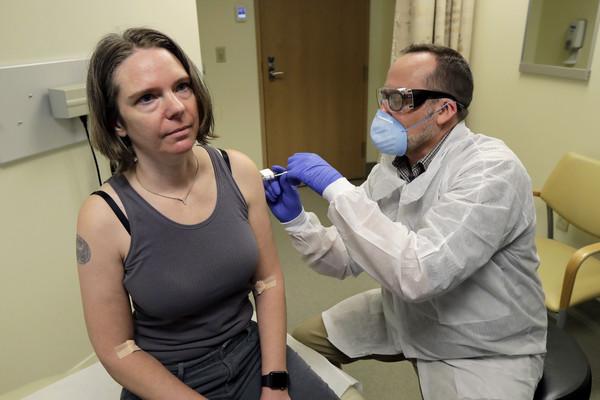 ▲▼美國西雅圖展開新冠肺炎疫苗人體臨床實驗。(圖/達志影像/美聯社)