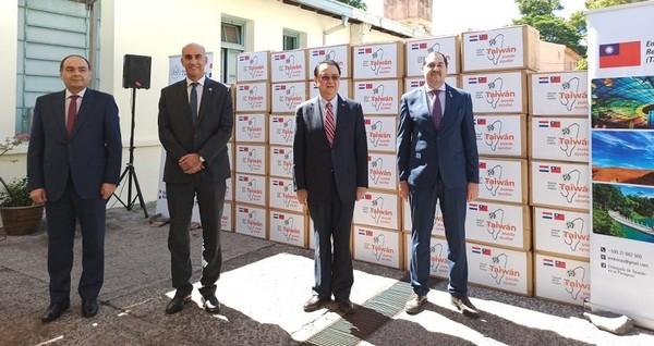 影/巴拉圭議員批台只捐口罩不夠「加碼要呼吸器」 外交部:視需求提供協助