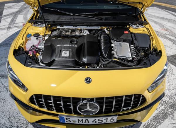 ▲賓士AMG A45 S。(圖/翻攝自Mercedes-Benz)