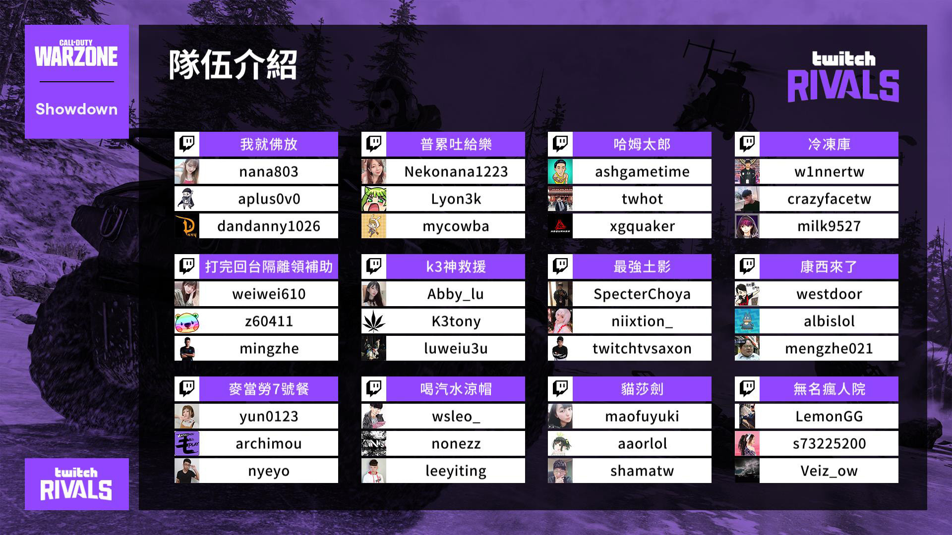 3th twitch rivals(圖/Twitch提供)