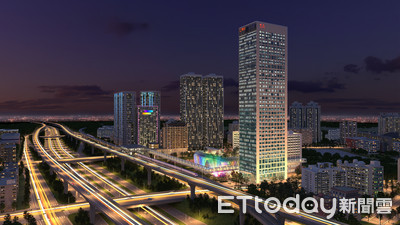 東森國際媒體園區將成為「台灣坎城」 王令麟:打造林口新地標