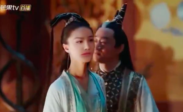 ▲女星劉露被換角,《三千鴨殺》「AI換臉」嚇歪網友。(圖/翻攝芒果TV)
