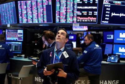 美股三大期指大漲!道瓊期上漲逾3百點 預告美股今晚開盤走強